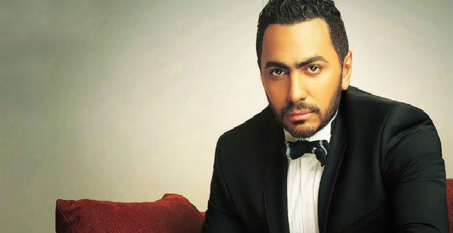 تامر حسني ينضم إلى مشاهير هوليود!!