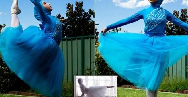 أول راقصة باليه محجبة في العالم