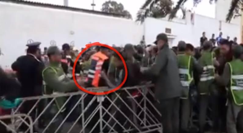 بالفيديو.. لحظة دهس شرطي من طرف جمهور الجيش الملكي