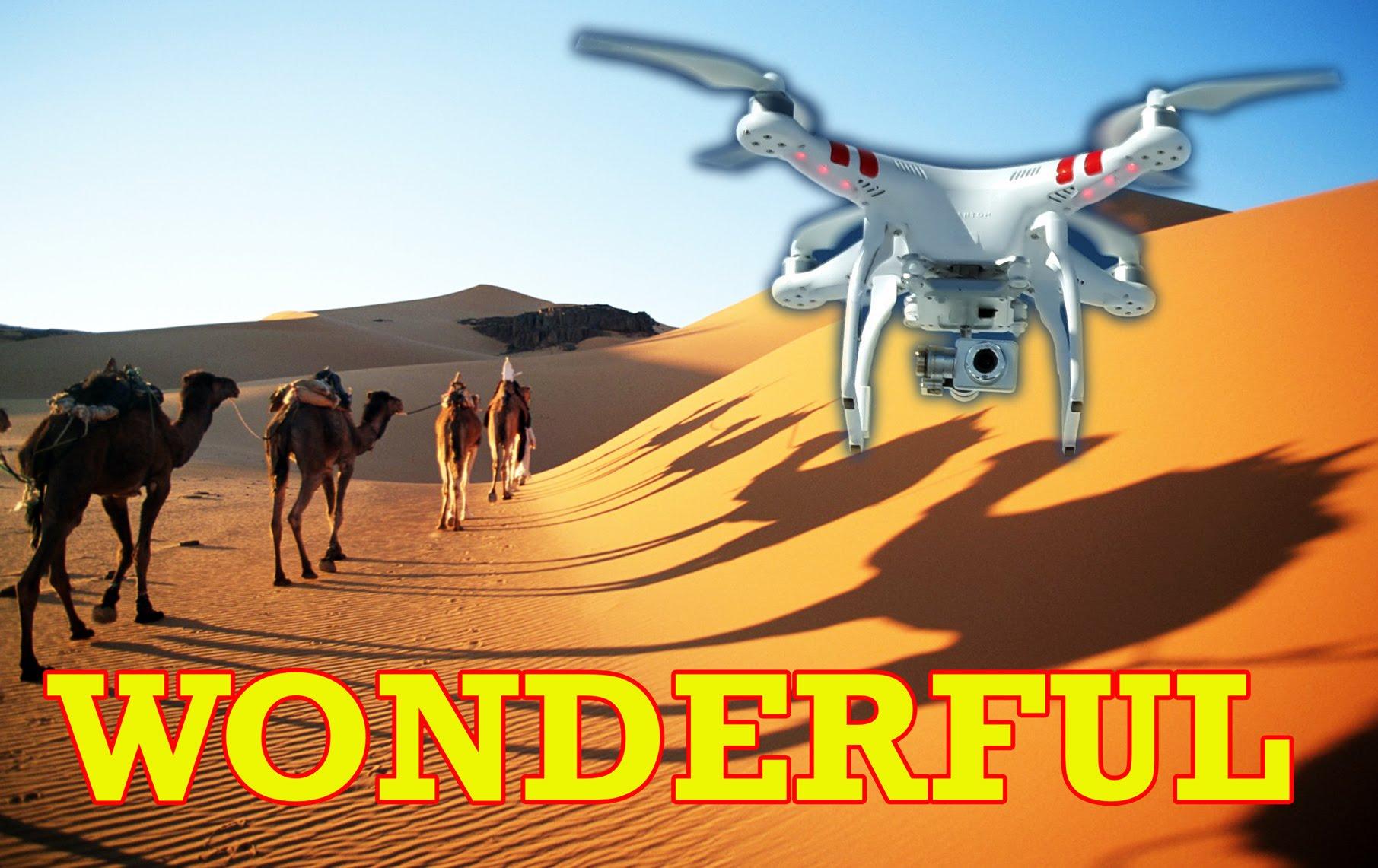"""فيديو مذهل لريف والصحراء المغربية مصور بواسطة طائرة """"درون"""""""