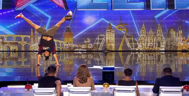 موهبة مصرية أبهرت لجنة التحكيم والجمهور ببرنامج المواهب Got Talent España 2016