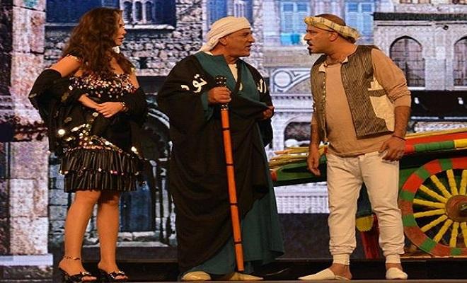 بالفيديو - معركة طاحنة بمسرح ''MBC'' للفوز بـ''نيكول سابا''