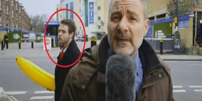 مذيع إيطالي يضرب شخصاً على الهواء