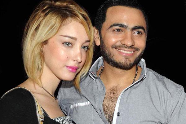 لهذا السبب منع تامر حسني من مغادرة مصر !!