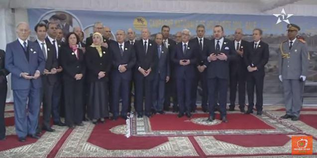الملك محمد السادس يترحم على الفقيدة زليخة نصري
