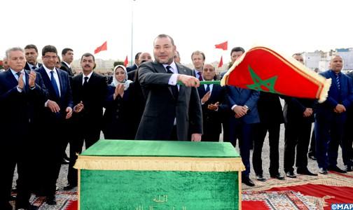 الملك محمد السادس يدشن مشاريع لإعادة الإدماج الحضري بالبيضاء