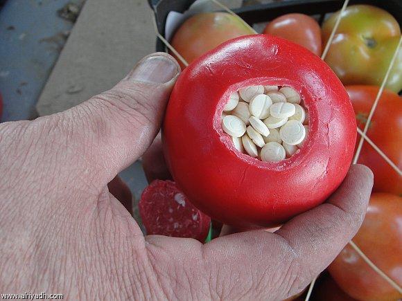 طنجة. حجز أزيد من 18 طن من المخدرات مخبأة وسط الطماطم