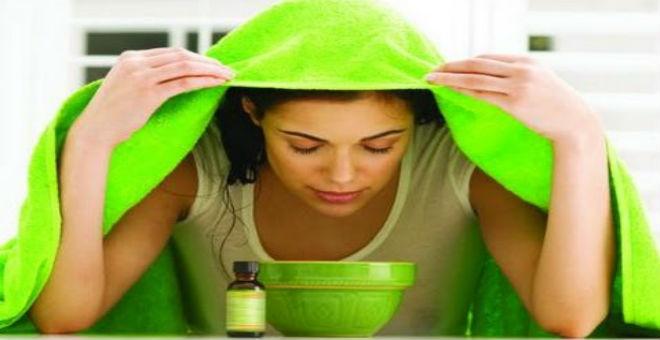 استفيدي من فوائد حمام البخار لتنظيف بشرتك