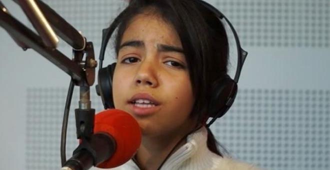 منع الطفلة نور قمر من الغناء في