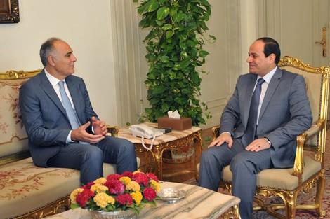 السيسي يتلقى دعوة رسمية من الملك محمد السادس لزيارة المغرب