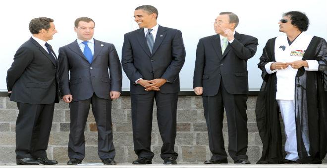 أزمة ليبيا..أوباما يلقي اللوم على ساركوزي وكاميرون