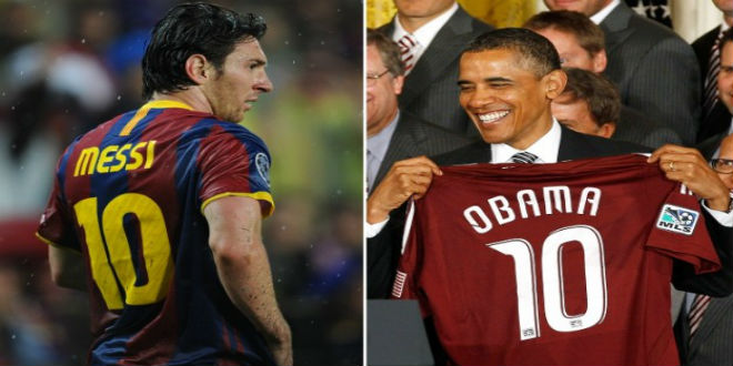 أوباما يطلب من الأرجنتين مقابلة ميسي