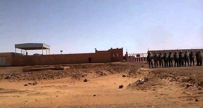 فيديو .. إحباط هجوم إرهابي استهدف قاعدة نفطية بالجزائر