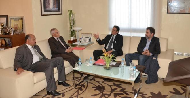 الائتلاف المغربي للملكية الفكرية يبحث مع وزير التعليم العالي برنامج التعاون