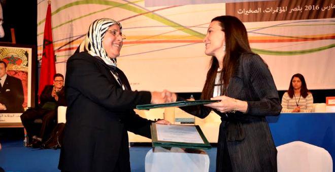 الحقاوي توقّع مع ممثلة اليونيسيف بالمغرب  مذكرة تفاهم