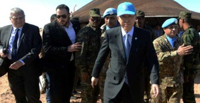 الحكومة المغربية  تحتج بقوة  على تصريحات بان كي مون بخصوص قضية الصحراء