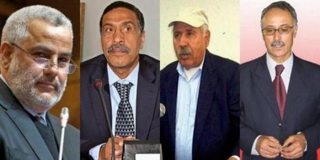 السيد عبد الإله بنكيران، والكتاب العامون لبعض المركزيات النقابية.