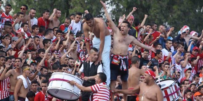 الجامعة تعاقب فريق  المغرب التطواني بسبب جماهيره