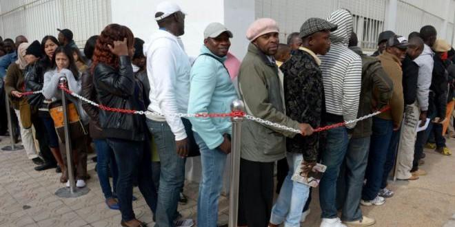 إدماج المهاجرين من دول جنوب الصحراء