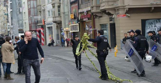 هجوم جديد في تركيا.. 4 قتلى في تفجير انتحاري بإسطنبول