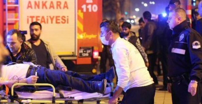 عدد ضحايا التفجير الإرهابي في أنقرة يرتفع إلى 37 قتيلا