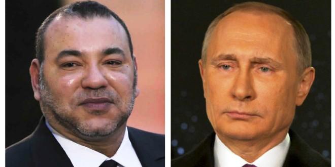 زيارة الملك محمد السادس لروسيا
