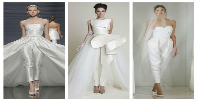 للعروس الجريئة..فساتين الزفاف بتصميم