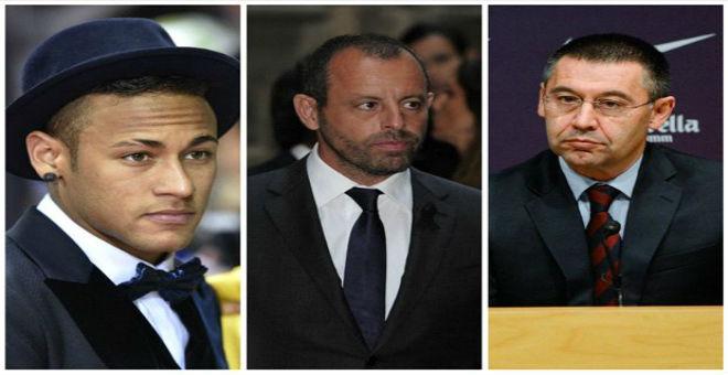الحكم على رئيسي برشلونة في قضية صفقة نيمار