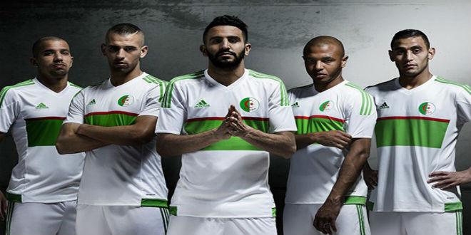 فضيحة في المنتخب الجزائري بسبب قميص أديداس الجديد