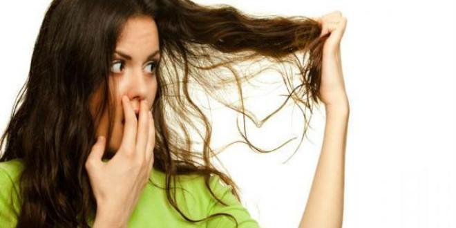 رائحة الشعر المزعجة