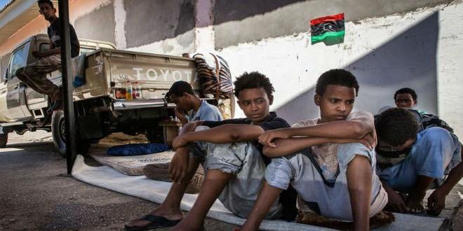 ليبيا نقطة عبور للمهاجرين