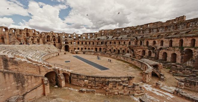 كوليزي الجم بتونس..ثاني أكبر مسرح بالعالم