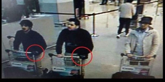 هوية منفذي هجوم مطار بروكسل