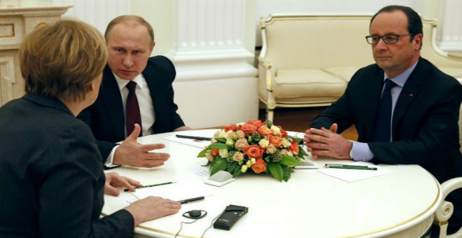 أوروبا تتفق مع روسيا بشأن وقف إطلاق النار في سوريا