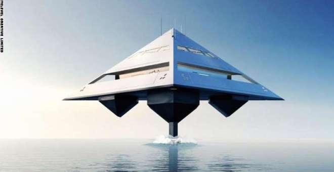 بالصور.. هل هذه سفينة فضائية أم يخت فاخر؟