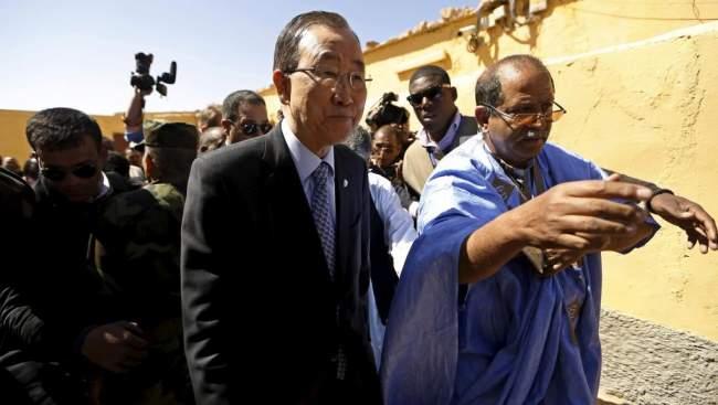 لماذا استفز بان كي مون المغاربة خلال زيارته لمخيمات تندوف؟