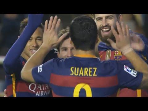بالفيديو.. برشلونة يكتسح رايو فايكانو