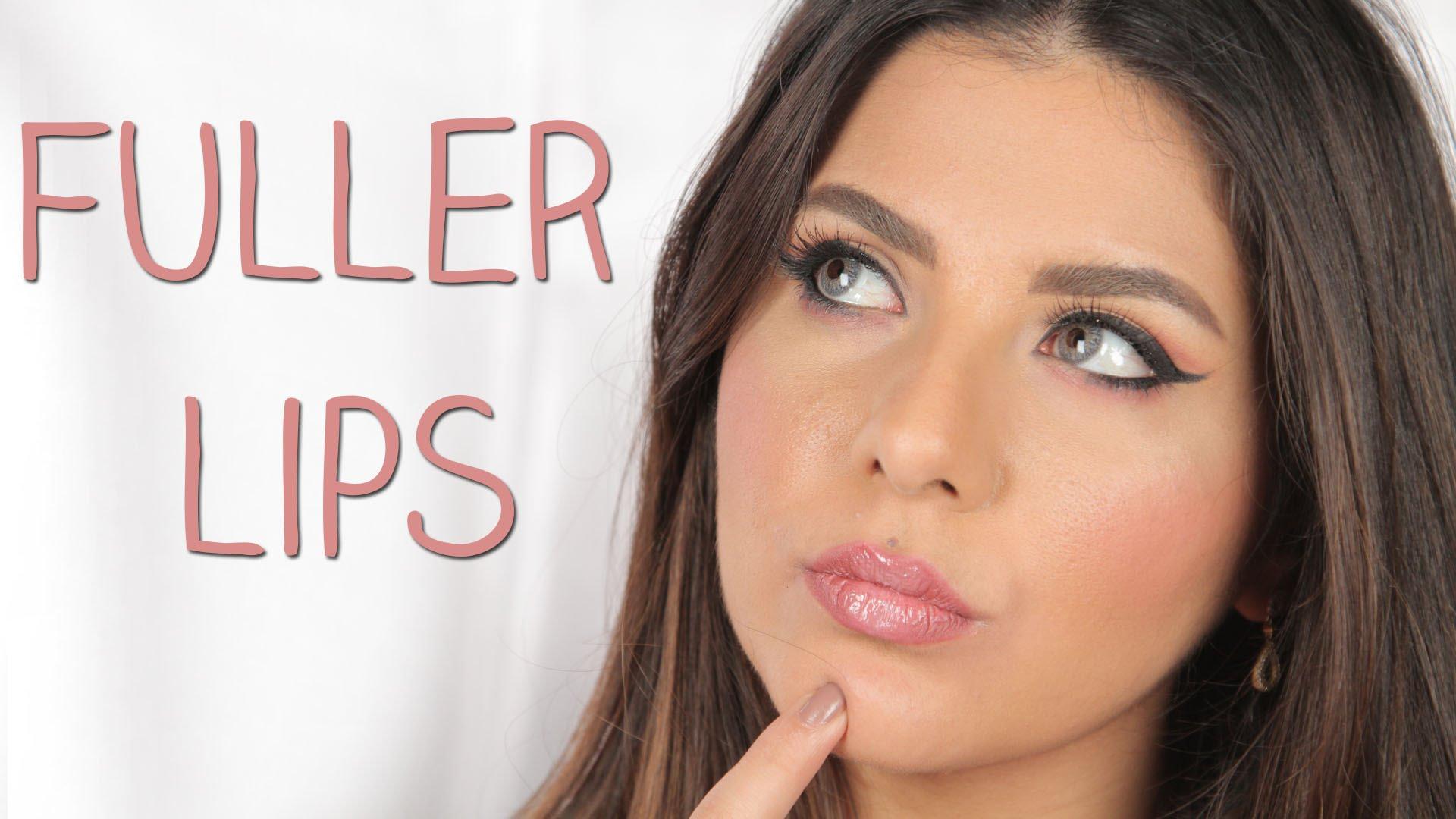حيلة بسيطة لشفاه ممتلئة دون عمليات التجميل
