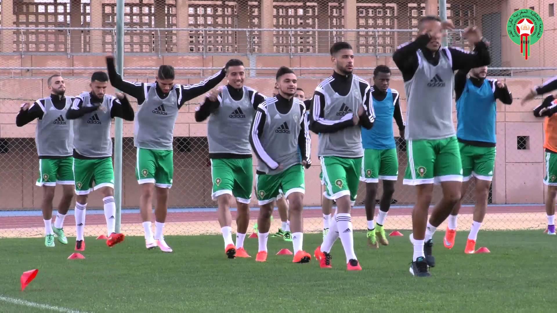 بالفيديو.. أجواء تداريب المنتخب الوطني في مراكش