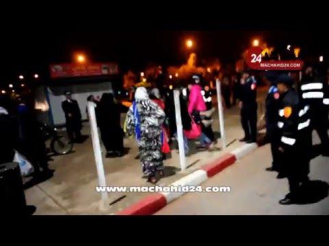بالفيديو.. فرحة عائلات مشجعي الرجاء لحظة الإفراج عنهم