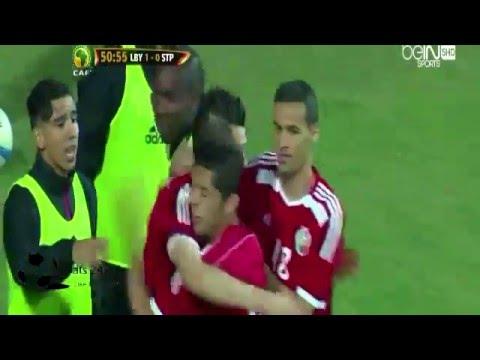 بالفيديو.. أهداف منتخب ليبيا على ساوتومي