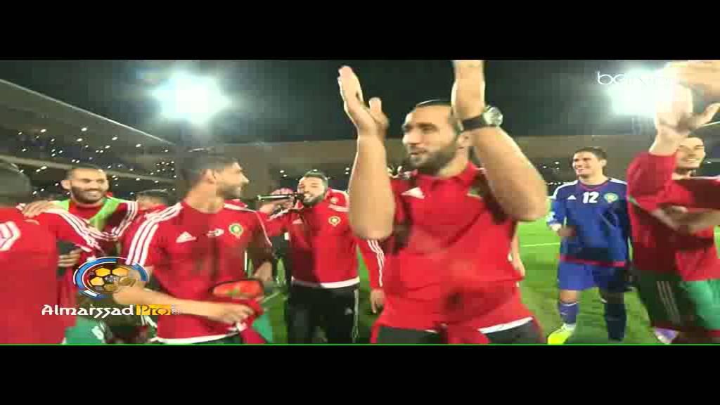 بالفيديو.. فرحة العناصر الوطنية بالتأهل إلى كأس افريقيا