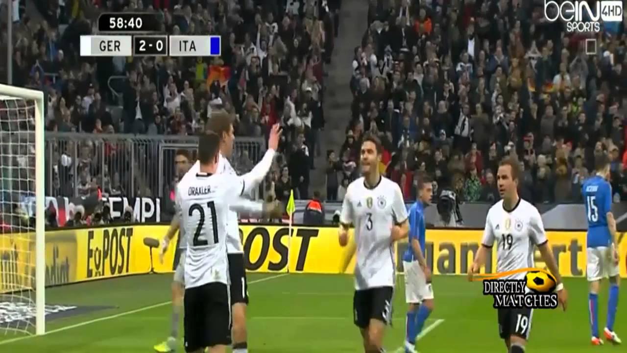 بالفيديو.. ألمانيا تكتسح إيطاليا برباعية