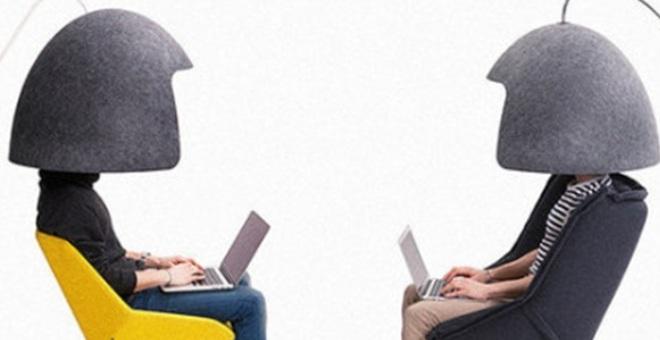 بالصور.. اختراع يجنبك إزعاج زملاء العمل