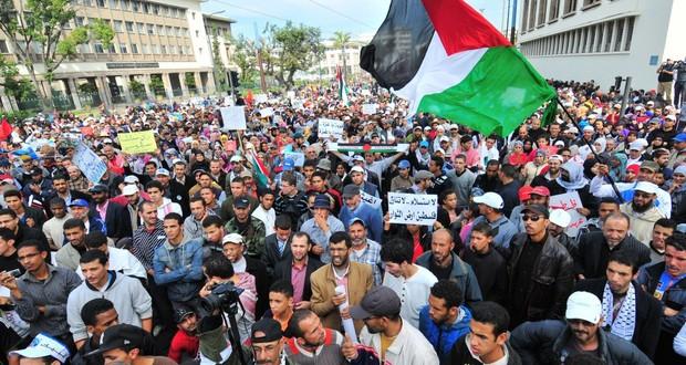 دعوات للإحتجاج تضامنا مع الشعب الفلسطيني في يوم الأرض
