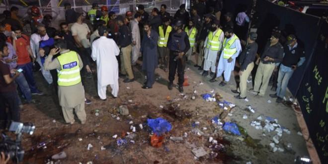 تفجير بمدينة لاهور الباكستانية