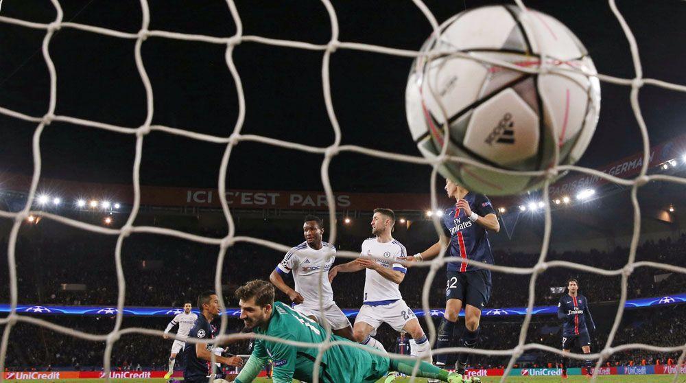 باريس سان جيرمان يهزم تشيلسي ويتأهل لربع نهائي دوري الأبطال