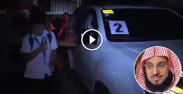 بالفيديو: لحظة إطلاق النار على الشيخ عائض القرني!