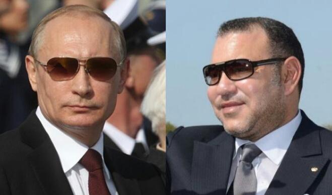 الملك يلتقي بوتين غدا.. وقضايا كبرى على طاولة النقاش