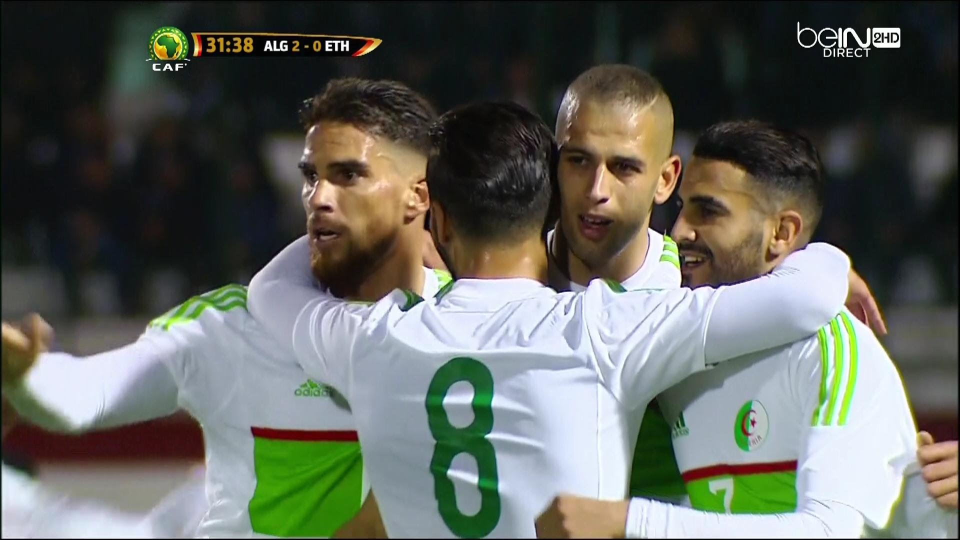 بالفيديو.. الأهداف السبعة للمنتخب الجزائري